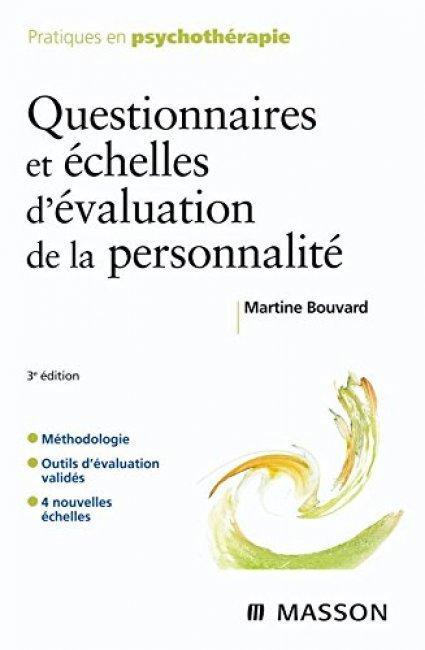 Questionnaires et échelles d'évaluation de la personnalité ...