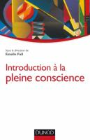 Introduction à la pleine conscience